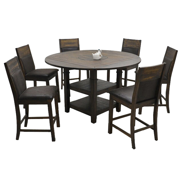 Charmant Dining Set Cafe Table Set Dining Room Set Dining Table Set 6 Dining Set For  6 Person Dining Set For 6 People Hung And Dining Seven Points Set Dining ...
