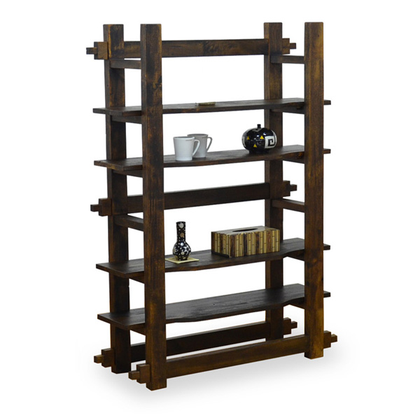 Dark brown living storage furniture storage rack storage shelf rack living decorative shelves decorative shelf bookshelf bookshelf bookcase display rack