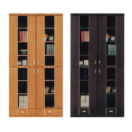 キャビネット 完成品 木製 90cm幅 幅90cmハイタイプ ブラウン ナチュラル リビング収納家具 サイドボード 飾り棚 飾棚 リビングボード 収納棚 リビングラック シェルフ 国産品 日本製