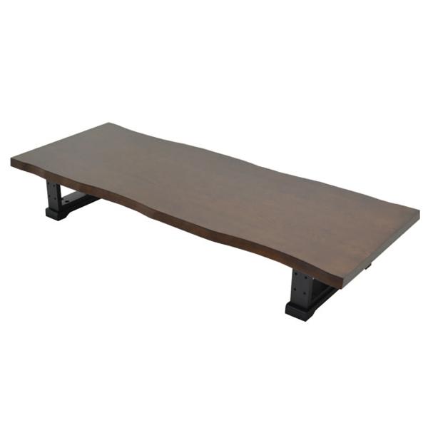 座卓 テーブル 210cm幅 ちゃぶ台 ローテーブル 和風テーブル リビングテーブル コーヒーテーブル てーぶる 木製 和風 ブラウン