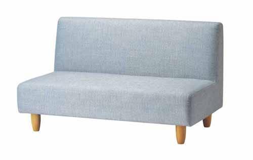 ソファー 2人掛けソファー 2人用ソファー 二人掛け 二人用 布張り製 北欧風 アクア そふぁー