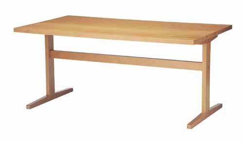 ダイニングテーブル 木製 北欧風 140cm幅 幅140cm ナチュラル 4人用 四人用 食堂テーブル 食卓テーブル カフェテーブル てーぶる