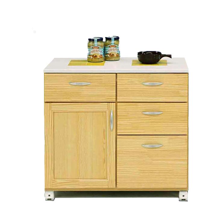 キッチンカウンター 完成品 幅80cm 80cm幅 80幅 キッチン収納家具 食器収納 食器棚 家電収納 キッチンボード キャスター付き 木製 カントリー風 ナチュラル 国産品 日本製