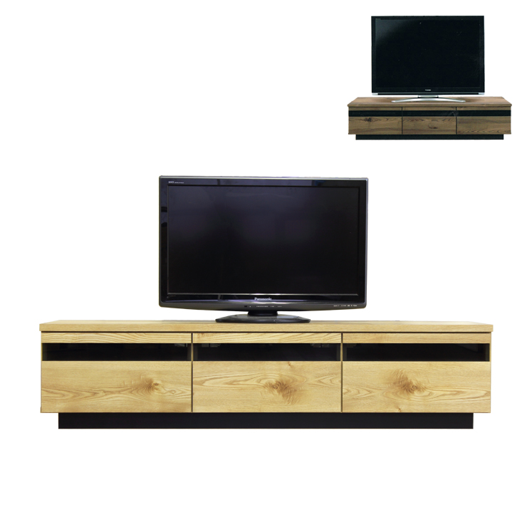 Dreamrand Tv Table Tv Sideboard Lowboard Completed Wooden