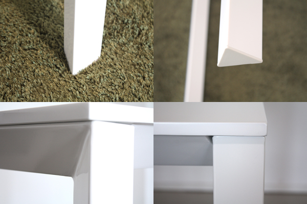 餐桌木制摩登宽130cm白白4个事情4个事情食堂桌子餐桌桌子咖啡厅桌子teburu