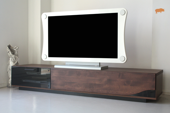 TV table TV sideboard lowboard completed wood modern 180 cm width width 180  cm tall TV Board TV Board TV stand TV stand living board storage make AV