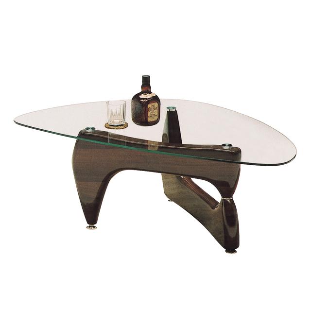 センターテーブル ローテーブル リビングテーブル コーヒーテーブル てーぶる ガラステーブル ガラス製 モダン 120cm幅 幅120cm ブラウン