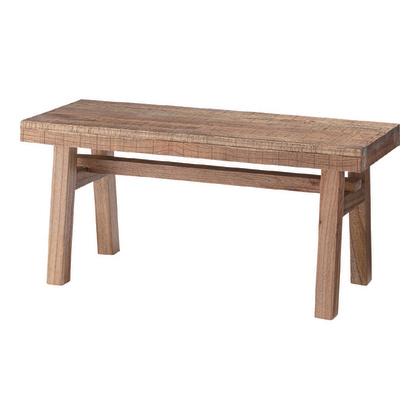 ダイニングベンチ ダイニングチェアー 幅100cm ブラウン 木製 ベンチチェアー 椅子 いす