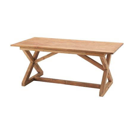 ダイニングテーブル 幅150cm ナチュラル 木製 4人用 四人用 食堂テーブル 食卓テーブル カフェテーブル てーぶる
