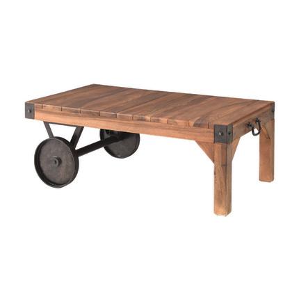 センターテーブル ローテーブル リビングテーブル コーヒーテーブル てーぶる 幅90cm ブラウン 木製 ミッドセンチュリー風