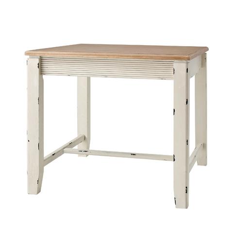 ダイニングテーブル 幅80cm 木製 アンティーク風 カフェテーブル 食堂テーブル 食卓テーブル てーぶる 2人用 二人用