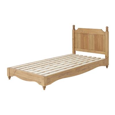 dreamrand: Single bed frame single bed frame only natural wooden ...