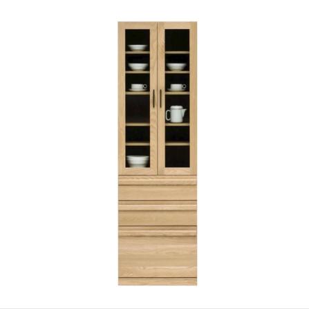 食器棚 完成品 幅60cm 高さ200cm 木製 北欧風 ナチュラル 堀田木工所