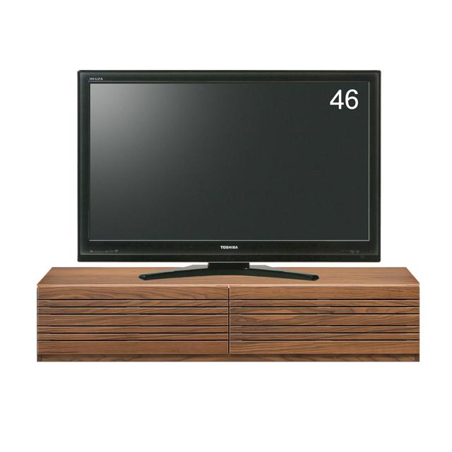 テレビ台 テレビボード ローボード 完成品 幅150cm ブラウン 木製 北欧風 ロータイプテレビボード TVボード てれび台 TV台 リビングボード AV収納 テレビラック