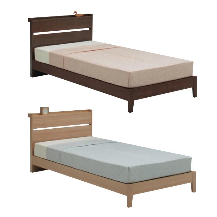 single bed frame single bed frame only brown natural wood scandinavian style - Single Bed Frame