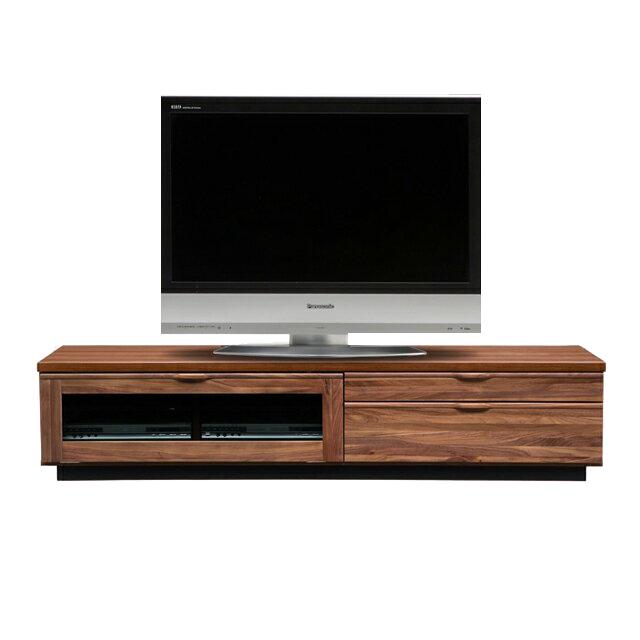テレビ台 テレビボード ローボード 完成品 幅180cm ブラウン 木製 北欧風 ロータイプテレビボード TVボード てれび台 TV台 リビングボード AV収納 テレビラック