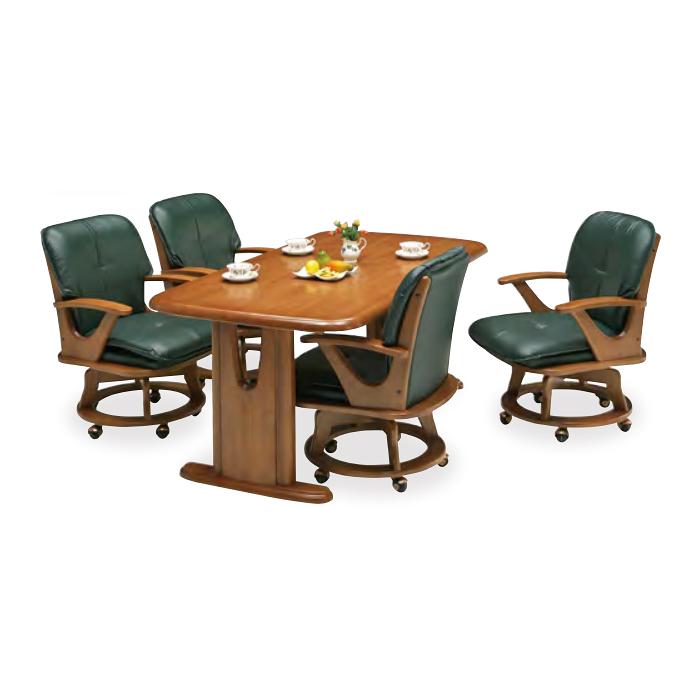 ダイニングテーブルセット ダイニングセット 5点セット 4人掛け 4人用 食堂セット 食卓テーブルセット ダイニング5点セット・カフェテーブルセット 四人掛け 四人用 ダイニングテーブル 木製 モダン風