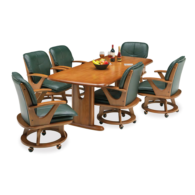 ダイニング7点セット ダイニングテーブル 木製 モダン風 ダイニング7点セット ダイニングテーブルセット 6人掛け カフェテーブルセット 食堂セット 食卓セット 6人用 六人用 六人掛け