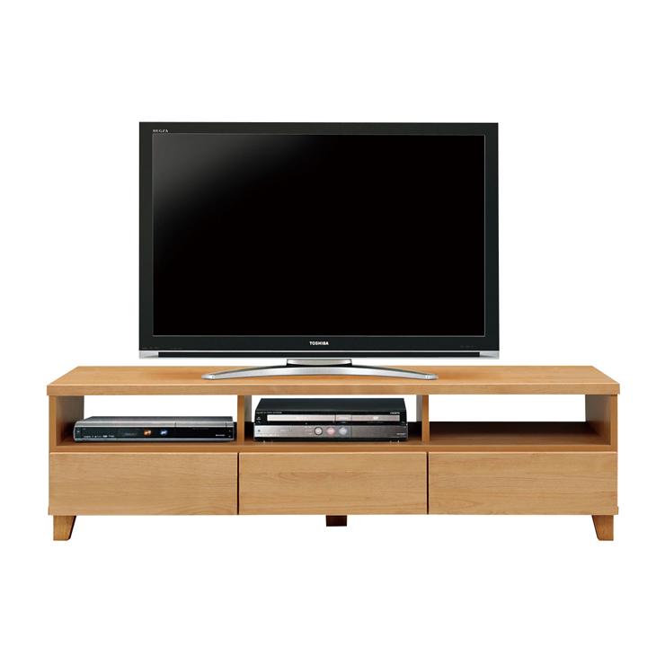 テレビ台 テレビボード ローボード 完成品 幅156cm 木製 北欧風 脚付き 引き出し付き ロータイプテレビボード TVボード てれび台 TV台 リビングボード AV収納 テレビラック