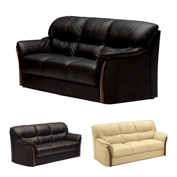 ソファー 3人掛けソファー 3人用ソファー 三人掛け 三人用 そふぁー ブラウン ブラック 黒 イエロー 黄 合皮製 モダン風
