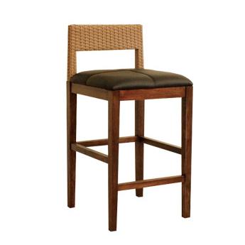 カウンターチェアー バーチェアー バースツール カウンタースツール イス 椅子 ブラウン 木製 アジアン風
