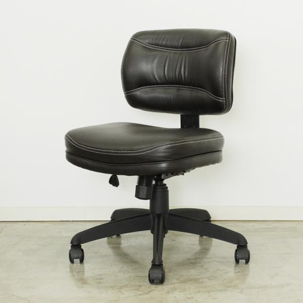 オフィスチェアー ブラウン 木製 モダン 事務用チェアー 事務用椅子 デスクチェアー ワークチェアー パソコンチェアー ワーキングチェアー おしゃれ
