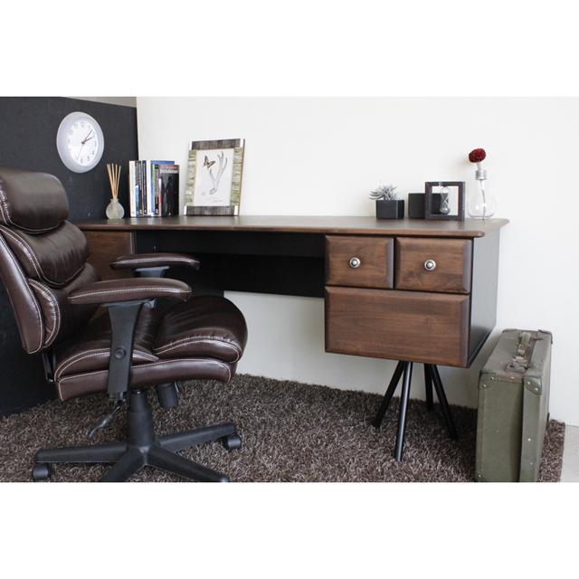 Writing desk desk width 160 cm wooden antique Brown working desk den Desk  computer desk desk office desks Office desk work table PCs for pc desk for  writing ... - Dreamrand: Writing Desk Desk Width 160 Cm Wooden Antique Brown