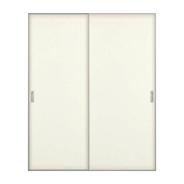 インテリアドア famitto ファミット クローゼット引戸 引き戸 引違い戸 引き違い戸 2枚建 ラウンドレール YKKap フラット H20 H23 リフォーム DIY 建材屋
