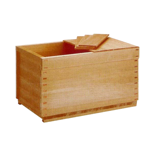 木製浴槽 バスタブ 木曽の木 ゆとり 据置式1500型 檜葉 無節材【風呂】【浴室】【湯舟】【湯船】【水廻り】 建材屋