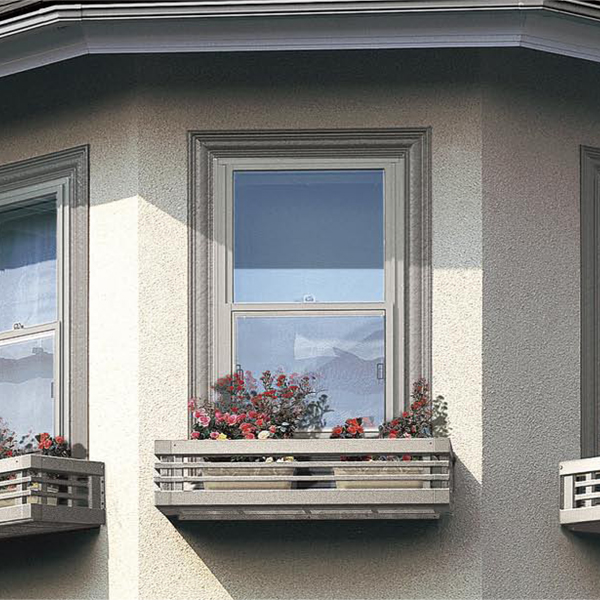 窓辺を四季折々の草花で演出!窓のアクセントに!ガーデニングに最適! LIXIL/リクシル フローリスト 横格子 160-03 寸法W1910*H230【フラワーボックス】【ガーデニング】【エクステリア】 建材屋