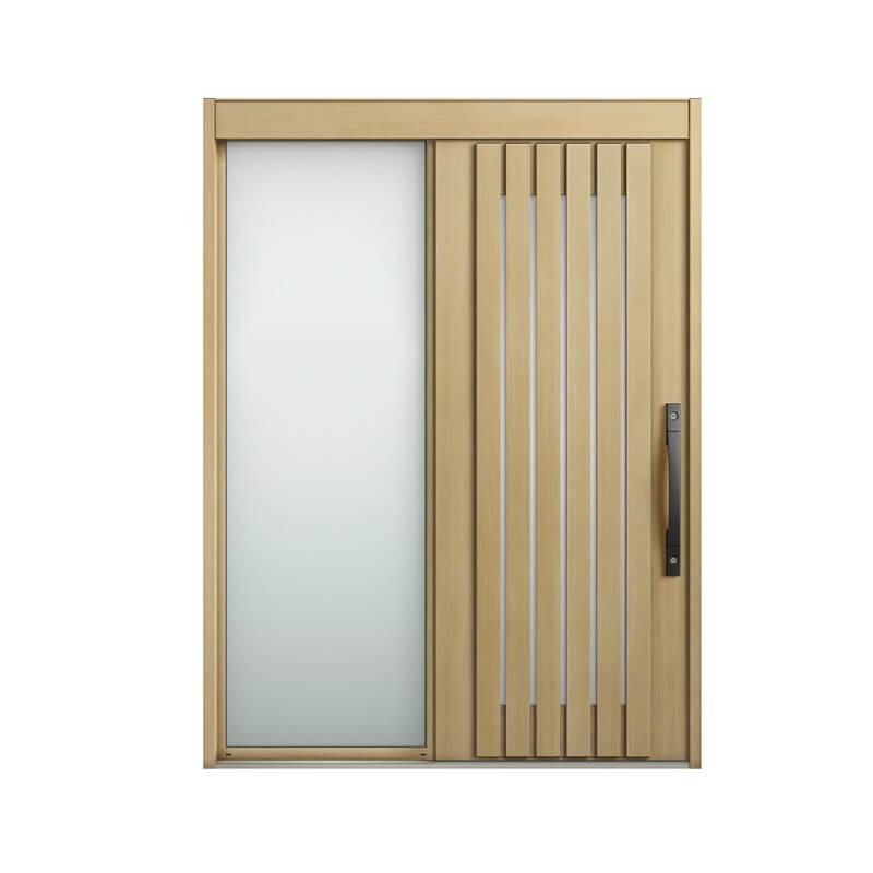 玄関引戸 リクシル エルムーブ2 L24型 片袖 本体鋼板仕様 呼称W164 W1640×H2288mm 玄関引き戸 LIXIL/TOSTEM トステム 玄関ドア サッシ リフォーム DIY 建材屋