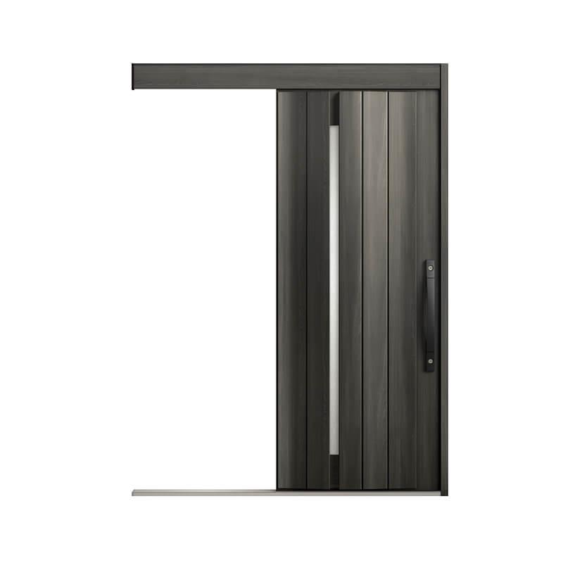玄関引戸 リクシル エルムーブ2防火戸 L11型 一本引き 本体鋼板仕様 呼称W183 W1838×H2150mm 玄関引き戸 LIXIL/TOSTEM トステム 玄関ドア サッシ 建材屋