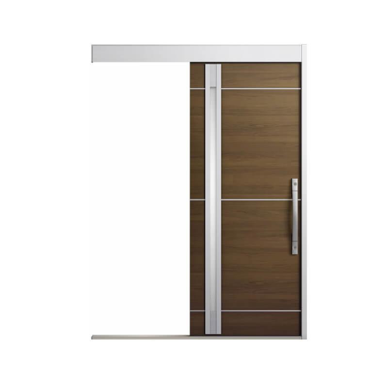 玄関引戸 リクシル エルムーブ2防火戸 L18型 一本引き 本体鋼板仕様 呼称W160 W1608×H2150mm 玄関引き戸 LIXIL/TOSTEM トステム 玄関ドア サッシ 建材屋