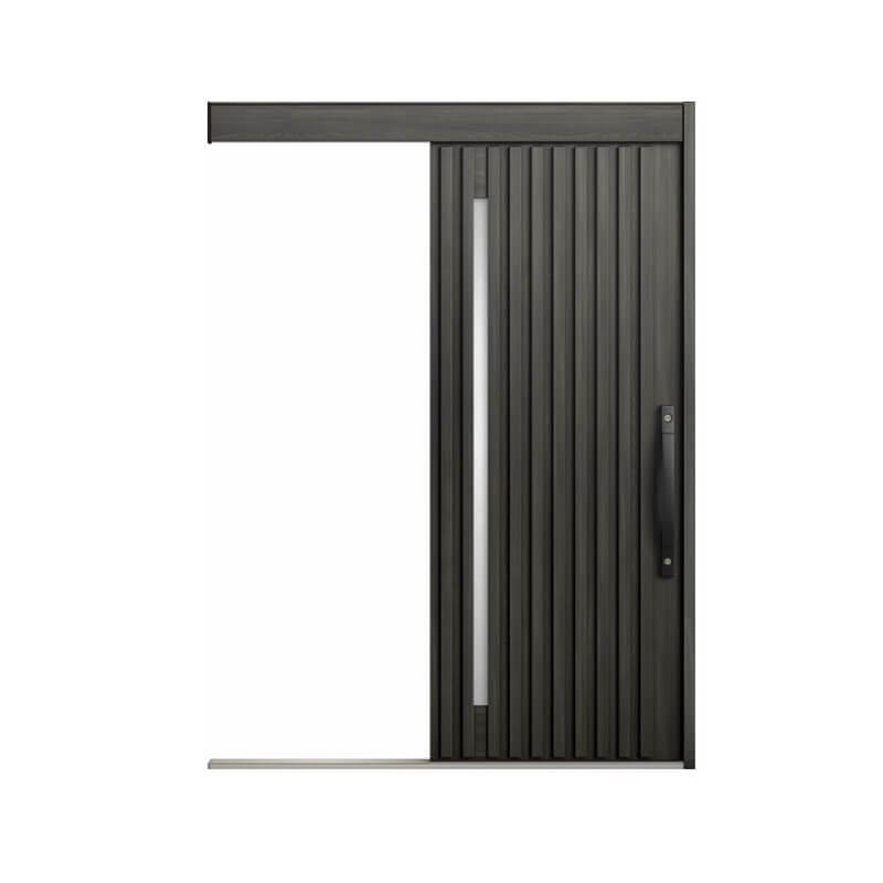 玄関引戸 リクシル エルムーブ2防火戸 L23型 一本引き 本体鋼板仕様 呼称W183 W1838×H2150mm 玄関引き戸 LIXIL/TOSTEM トステム 玄関ドア サッシ 建材屋
