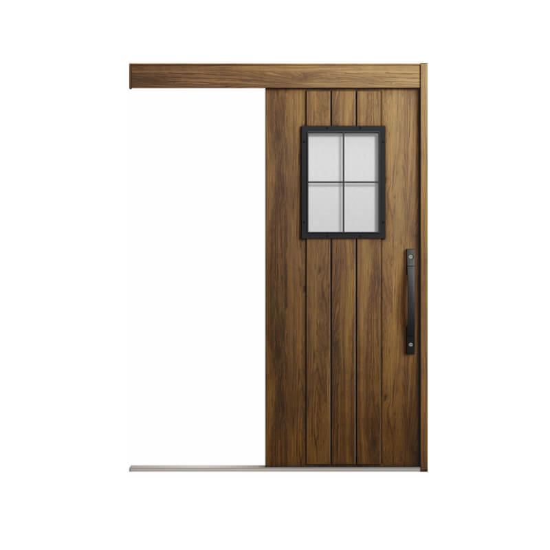 玄関引戸 リクシル エルムーブ2防火戸 L64型 一本引き 本体鋼板仕様 呼称W166 W1660×H2150mm 玄関引き戸 LIXIL/TOSTEM トステム 玄関ドア サッシ 建材屋