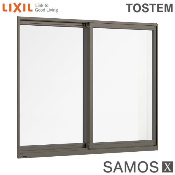 【8月はエントリーでP10倍】樹脂アルミ複合サッシ 引き違い窓 13313 W1370×H1370 LIXIL サーモスX 半外型 LOW-E複層ガラス (アルゴンガス入) アルミサッシ 引違い 建材屋