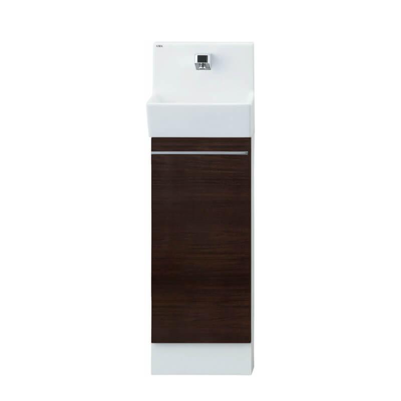 トイレ手洗 コフレル スリム(壁付) カウンタ-間口300 キャビネットタイプ YL-DA82SC(W/A/H)B ハンドル水栓 LIXIL リクシル 建材屋