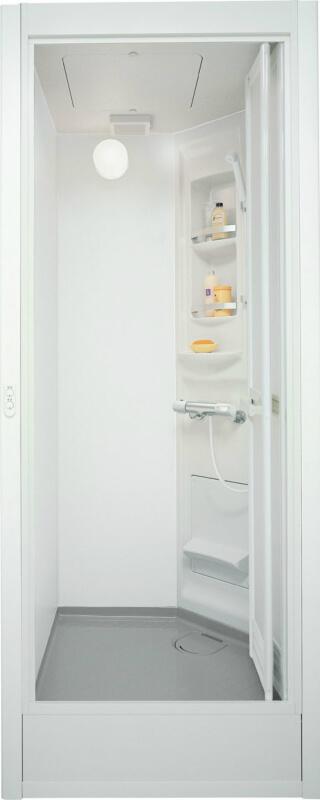 集合住宅用シャワーユニットSP ビルトインタイプ EL0808(プランSU10A)SPB-0808LBEL-A+H(C)R Lパネル(マット)ホワイト/LE301 LIXIL リクシル 建材屋