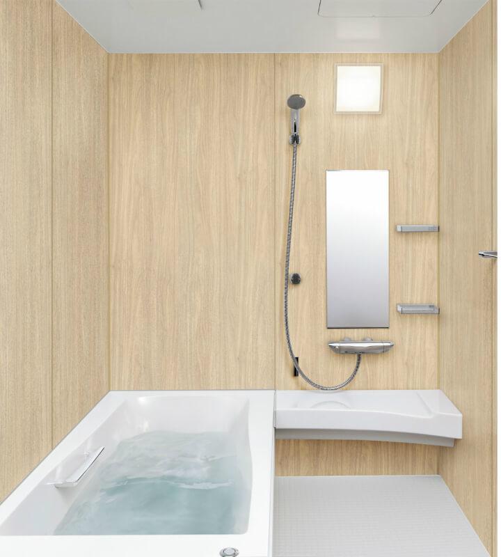 システムバスルーム スパージュ BXタイプ 1318(1300mm×1800mm)サイズ 全面張り 戸建1階用ユニットバス リクシル LIXIL 高級 浴槽 浴室 お風呂 リフォーム 建材屋