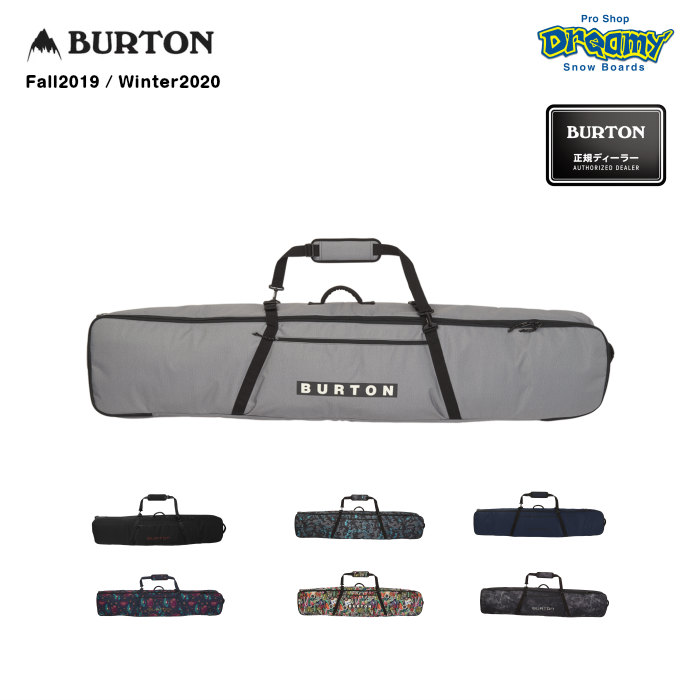 BURTON バートン Wheelie Gig Board Bag 109941 複数ボード収納可能 全面パッドボードプロテクション IXIONウィールシステム プルハンドル 2019-2020 正規品