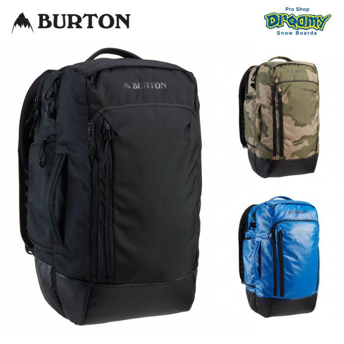 【即納】 WINTER2021 NEWモデル!!  BURTON バートン High Multipath 27L Travel Pack 208531 バックパック 機内持ち込み可能サイズ 50/50オープニング ノートPC収納 2021WINTER 正規品