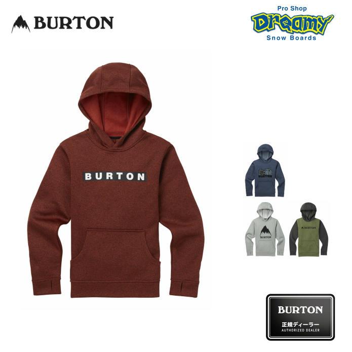 Burton Boys Oak Pullover Hoodie