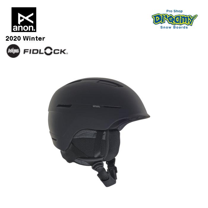 anon アノン Invert MIPS Asian Fit 206061 メンズ スノー ヘルメット アジアンフィット MIPS Fidlock 注入成型シェル構造 オーディオアクセサリー対応 正規品