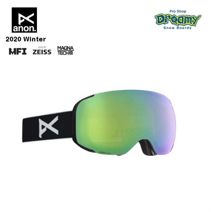anon アノン M2 Goggle Asian Fit With Bonus Lens 18556101040 眼鏡対応 メンズ スノー ゴーグル アジアンフィット Magna-Tech MFI ZEISS SONARレンズ 正規品