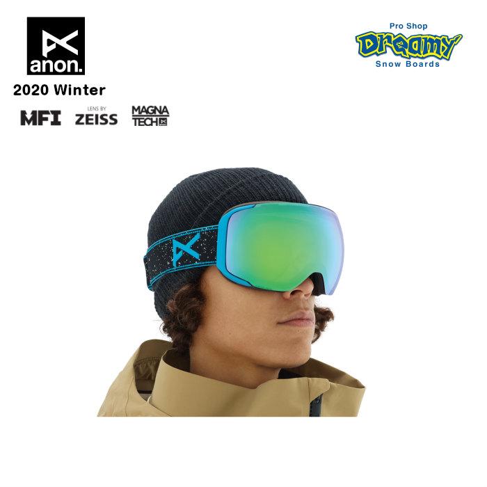 anon アノン M2 Goggle Asian Fit With Bonus Lens 18556102012 眼鏡対応 メンズ スノー ゴーグル アジアンフィット Magna-Tech MFI ZEISS SONARレンズ 正規品