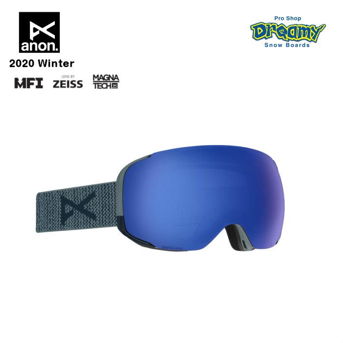 anon アノン M2 Goggle Asian Fit With Bonus Lens 18556102045 眼鏡対応 メンズ スノー ゴーグル アジアンフィット Magna-Tech MFI ZEISS SONARレンズ 正規品