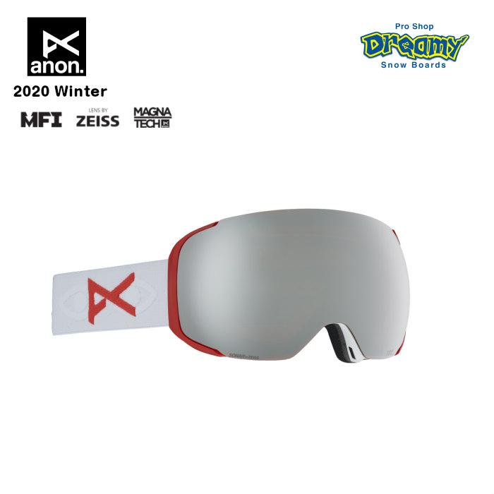 anon アノン M2 Goggle Asian Fit With Bonus Lens 18556102172 眼鏡対応 メンズ スノー ゴーグル アジアンフィット Magna-Tech MFI ZEISS SONARレンズ 正規品