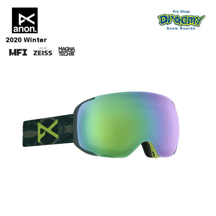 anon アノン M2 Goggle Asian Fit With Bonus Lens 18556102363 眼鏡対応 メンズ スノー ゴーグル アジアンフィット Magna-Tech MFI ZEISS SONARレンズ 正規品
