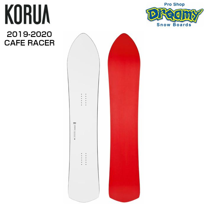19-20モデル KORUA コルア CAFE RACER パウダー フリーラン オールラウンド スノーボード 板 2020モデル 正規品