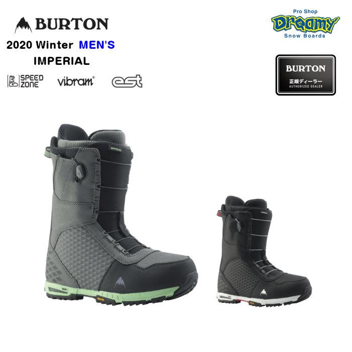 BURTON IMPERIAL 106221 メンズ SpeedZone NewEnglandRopes Imprint3ライナー Vibramアウトソール EST スノーブーツ スノーボード Winter 2020モデル 正規品